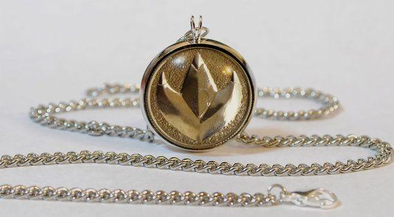 green ranger coin necklace