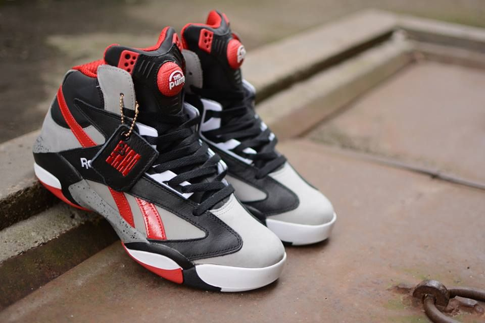 reebok pumps shaq