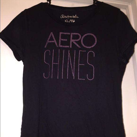 Trendy Aero T-Shirt Cute t-shirt, worn once. No flaws Aeropostale Tops Tees - Short Sleeve