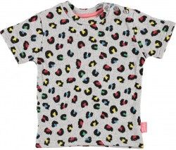 Tootsa MacGinty Safari T Shirt, Heather Grey (4-5 and 5-6 Years Only)