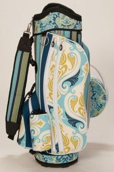 Sassy Caddy Ladies Golf Cart Bags - Breezy so pretty! A must if I start  golfing with the hubby. 9d72fd863c65a