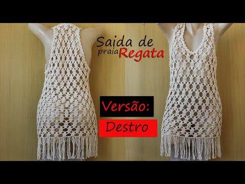 d44ab4f7e TEJE CON TUS DEDOS ESTE VESTIDO DE PLAYA - Crochet Fácil y Rápido - YouTube