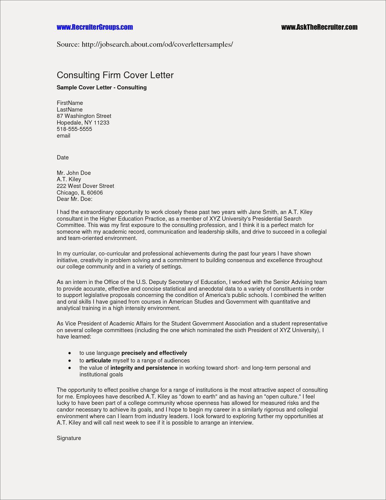 Financial Planning Mission Statement Examples Letter Example