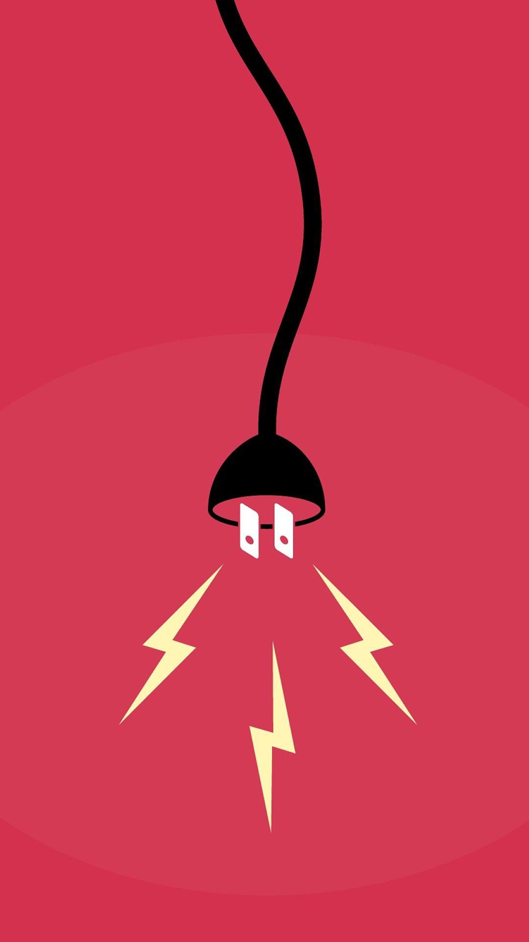 Wallpaper iphone tumblr boy - Sparkling Bulb Lamp Illust Art Iphone 6 Plus Wallpaper
