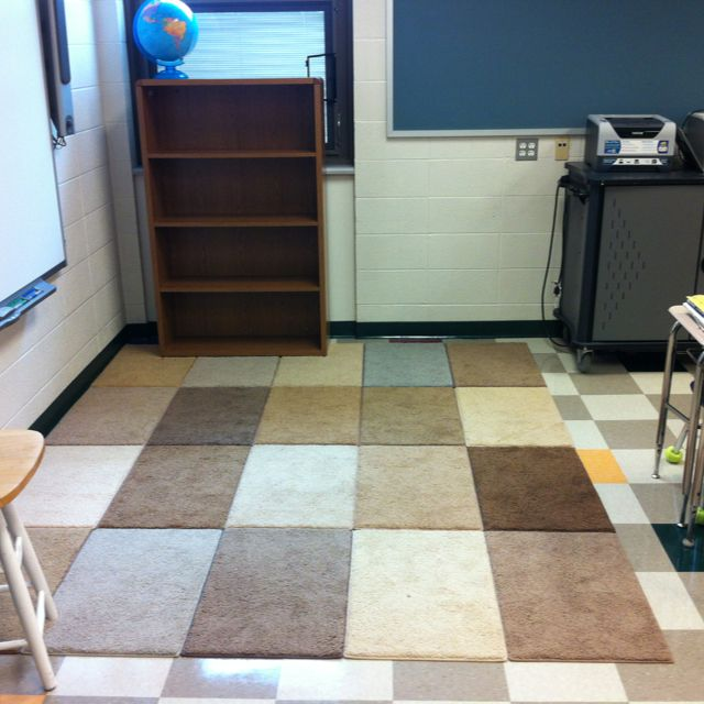 Large Classroom Rug Cheap: Create A Large Classroom Rug From Free Carpet Samples