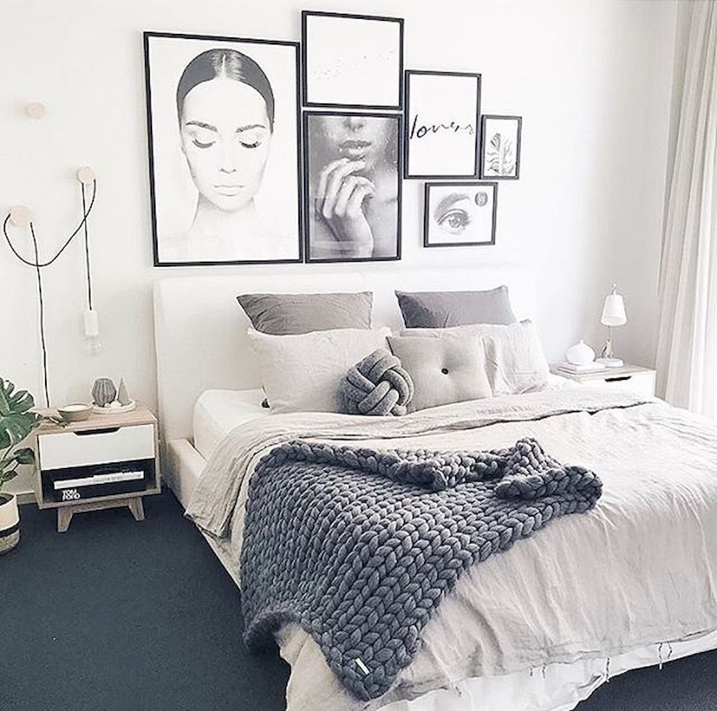 Nice 80 Modern Scandinavian Bedroom Designs   Wholiving Design Ideas