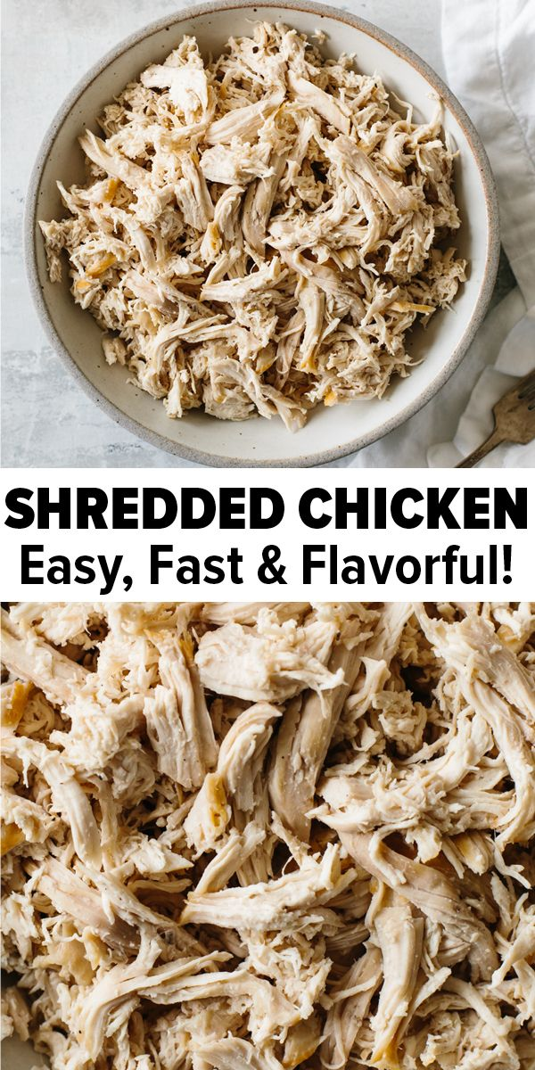 Shredded Chicken Recipe images