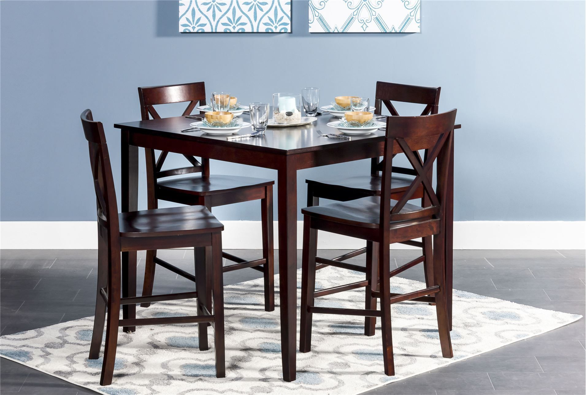 Best Percy 5 Piece Counter Set Dining Room Sets Living 400 x 300