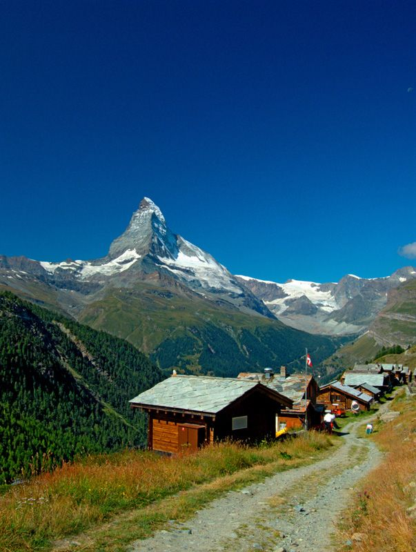 Findeln above Zermatt, Switzerland