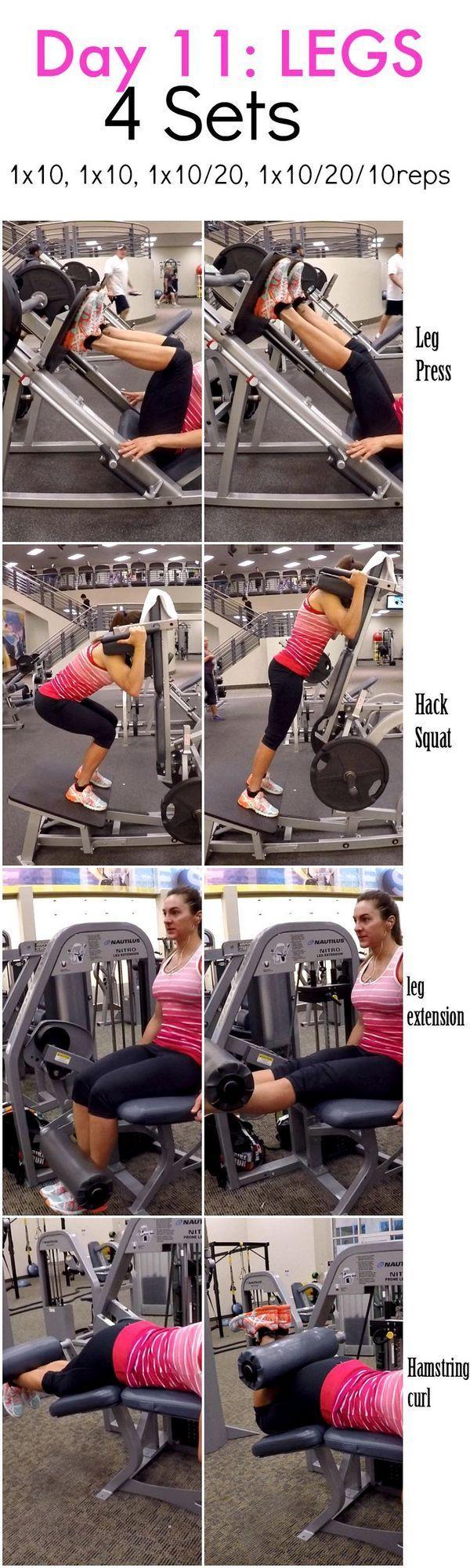 #bloglovin #fitness #shred #days #legs #food #diva #day28 Days 2 Shred: Day 11-LEGS (Fitness Food Di...