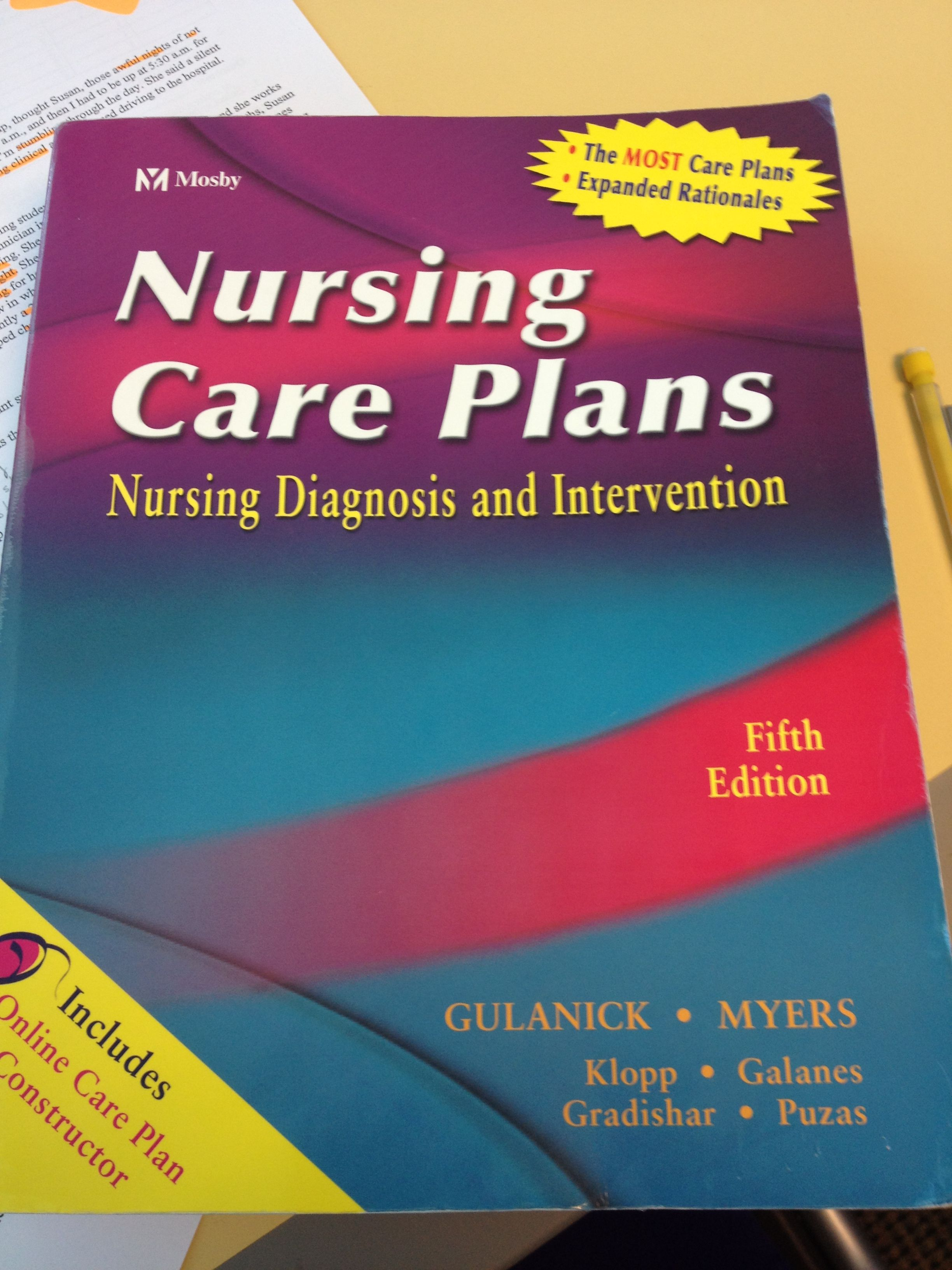 Mosbys nursing care plans nursing diagnosis intervention a mosbys nursing care plans nursing diagnosis intervention a common book for nursing clinicals fandeluxe Image collections