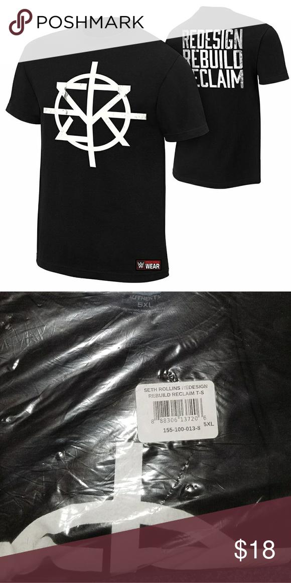 c5187833 WWE Seth Rollins tshirt (Big and Tall)