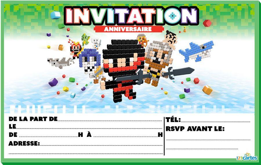 Bevorzugt Plus de 400 modèles d'invitations anniversaire gratuites pour  DX57