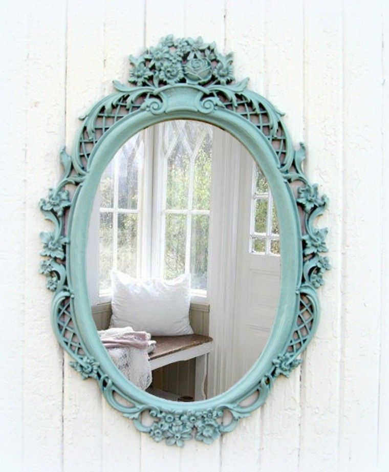 Espejos vintage de estilo romntico ms de 30 diseos Pinterest