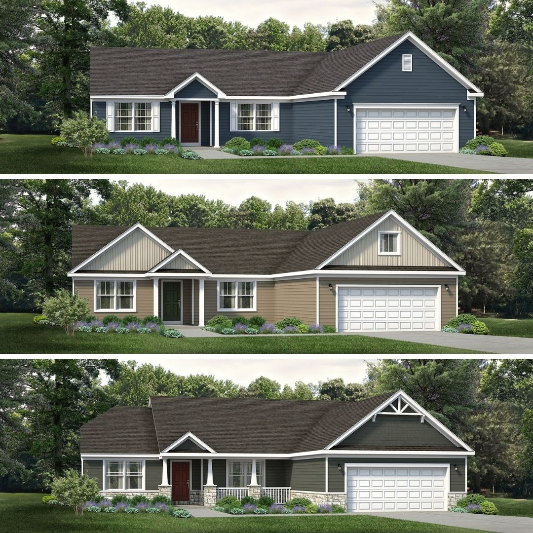 Introducing The Redesigned Coleford Plan House Design Curb Appeal Design