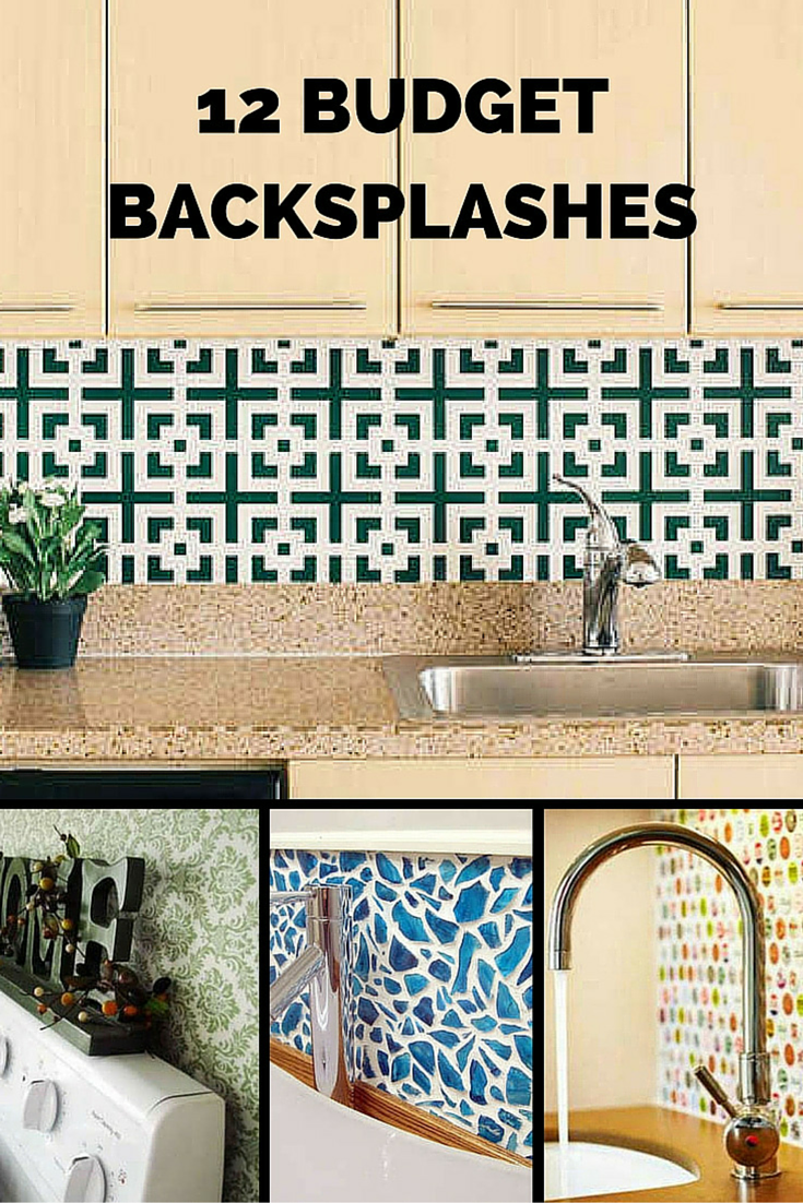 Inexpensive Backsplashes For Kitchens Kitchen Wall Mounted Cabinets 12 Inventive Ideas A Budget Backsplash Bob Vila S These Creative Low Cost Diy Will Inspire You To Make Change In Your