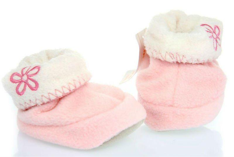 moda paño grueso y suave polar del bebé niño botas-Zapatos de Bebé ...