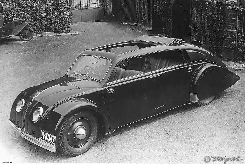 1934 Tatra 77 Prototype   Vintage Vehicles   Pinterest   Cars