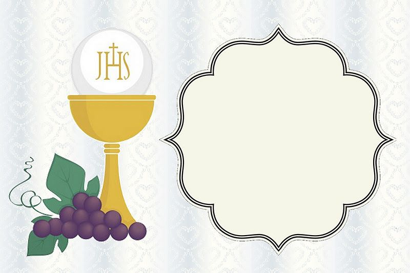 Handy image for first holy communion cards printable free