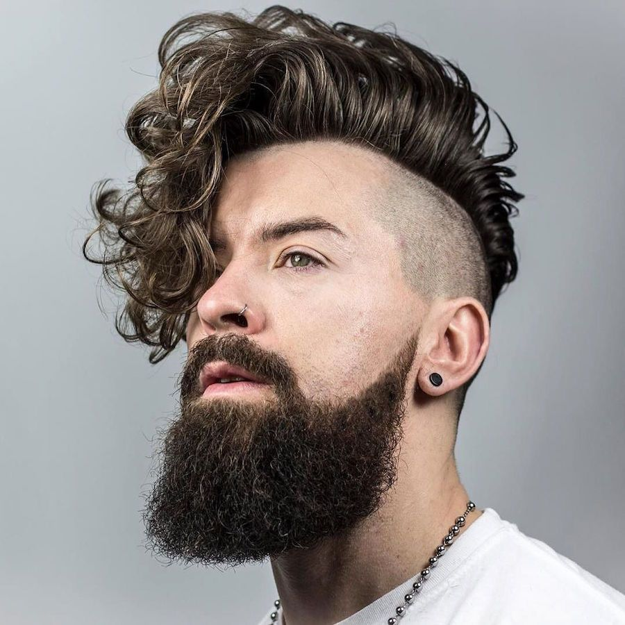 Cool long haircuts for men mais de  cortes para cabelos ondulados e cacheados para querer