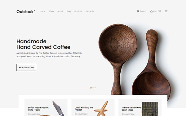 Outstock - eCommerce Bootstrap Template by stylextheme