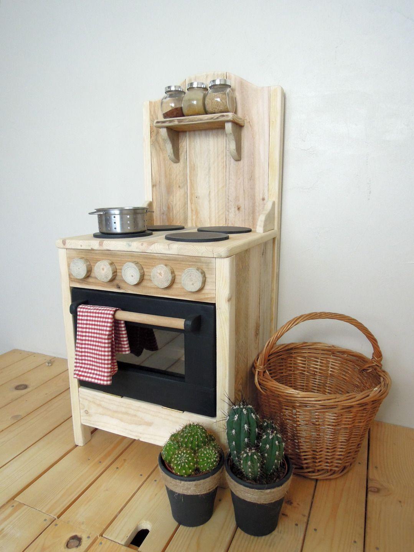 cuisine en bois pour enfants jeux jouets par. Black Bedroom Furniture Sets. Home Design Ideas