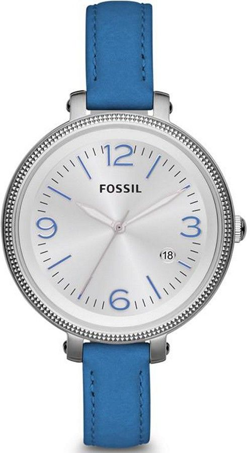 baabe727341 pretty blue fossil watch