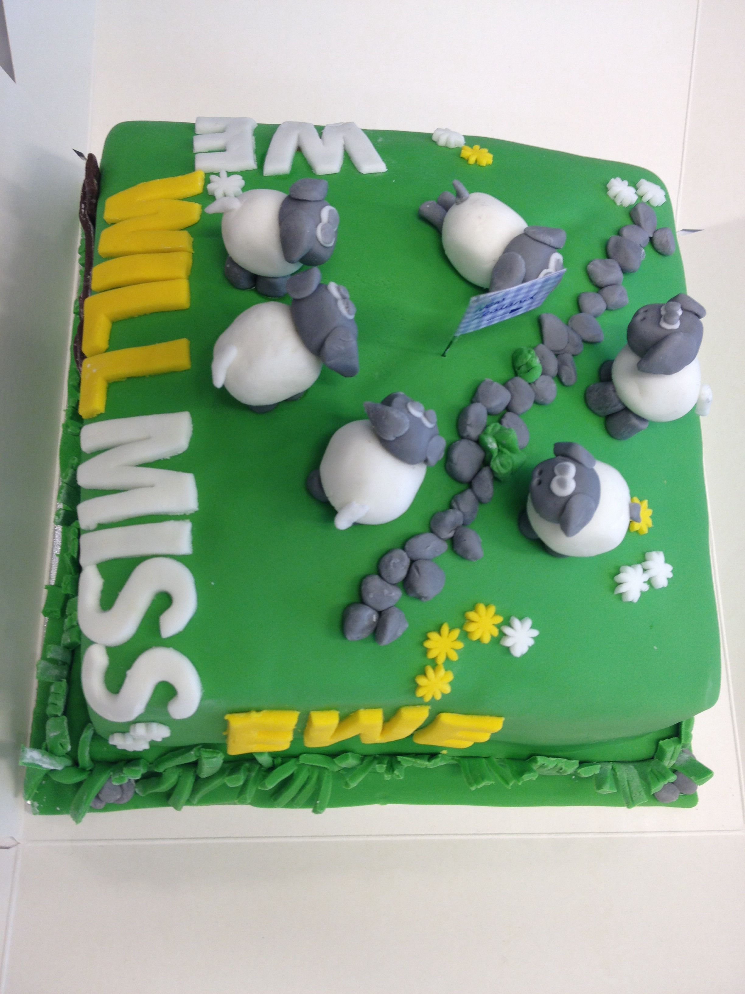 Angelas we will miss ewe new zealand cake with images