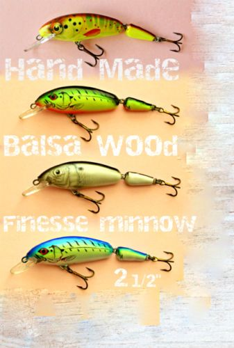 Ugly Duckling Fishing Lures finesse fishing great for trout,bream,bass,panfish