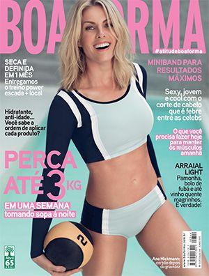 Ana Hickmann na edição de junho de 2015 da revista BOA FORMA ... a1fb1d1bd1