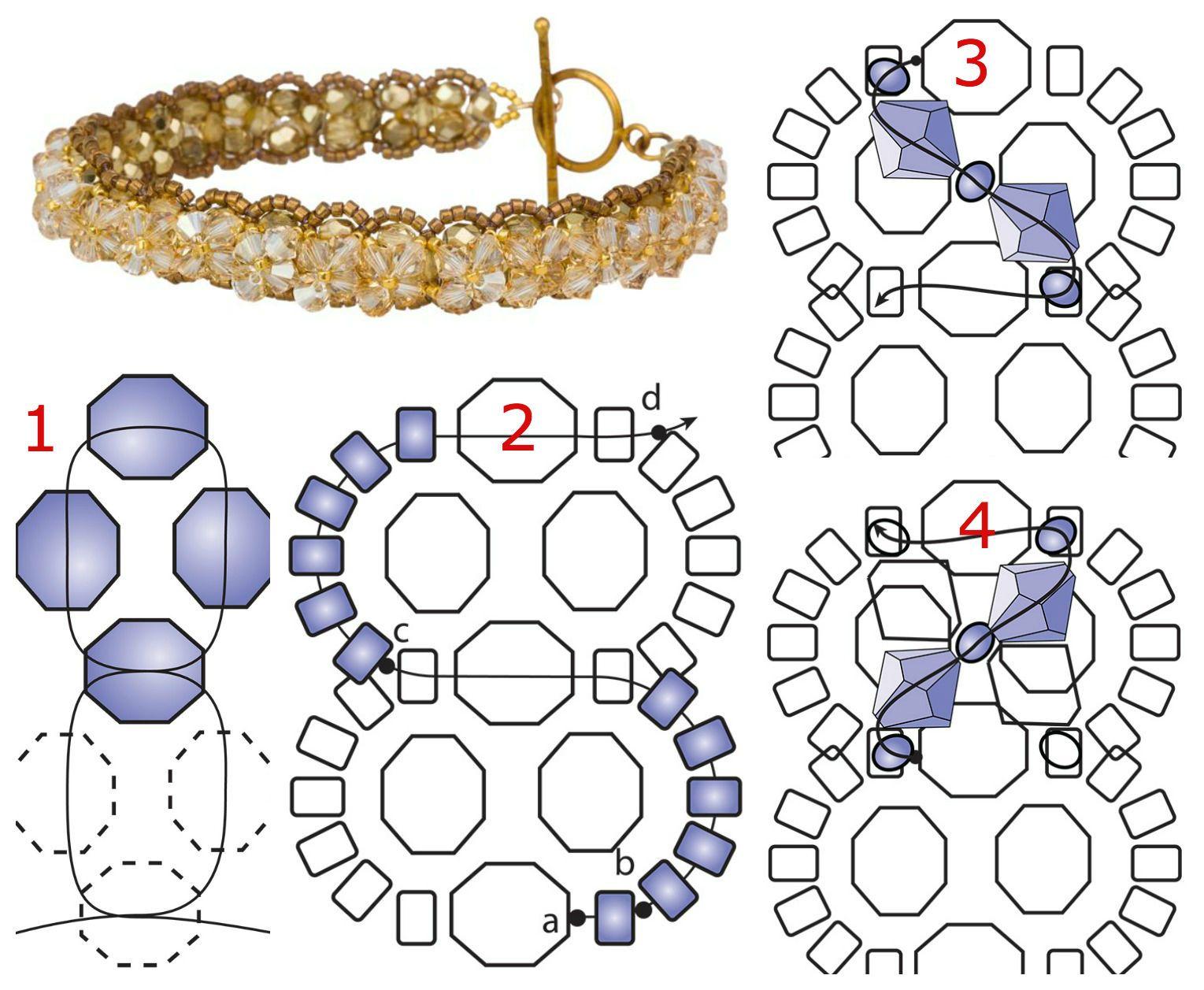 Free Beaded Bauble Bracelet Pattern from InmCrystal.com ...