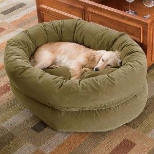 Best Large Breed Dog Beds Happy Price Double High Bagel Dog