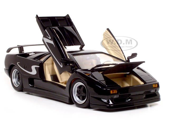 lamborghini diablo sv black 1 18 diecast model car maisto 31844 diecast car models pinterest. Black Bedroom Furniture Sets. Home Design Ideas