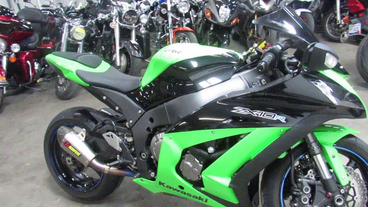 Used 2012 Kawasaki Zx10r For Sale In Michigan U4709 Used