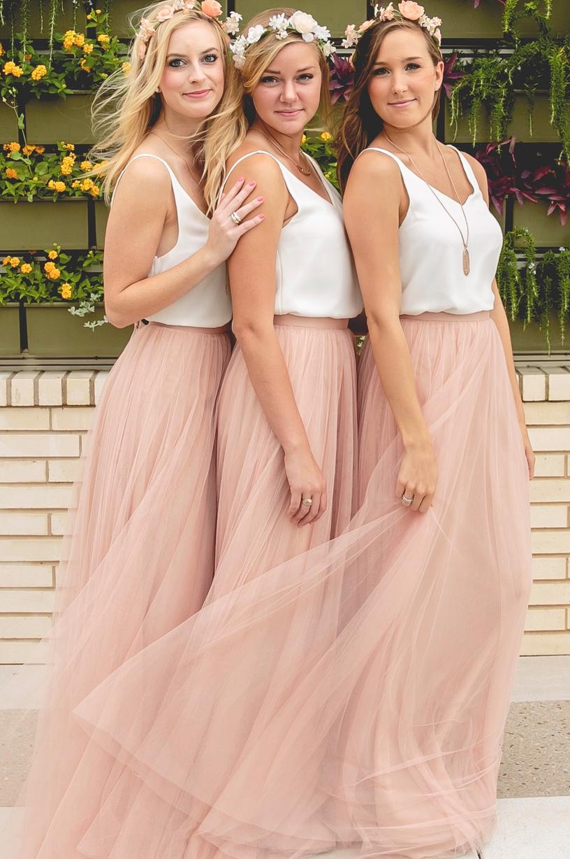 Skylar tulle skirt wedding weddings and groomsmen outfits