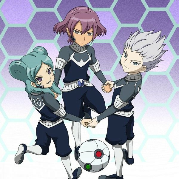Alpha, Beta and Gamma - Inazuma Eleven Go Chrono Stone