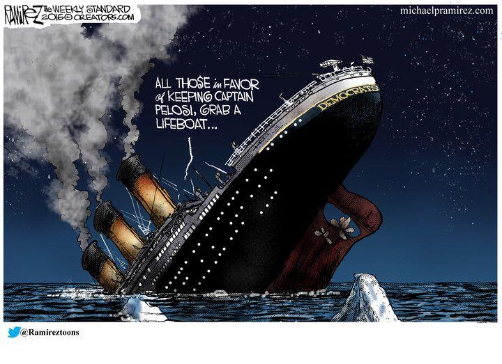 Image result for ramirez cartoons democrats