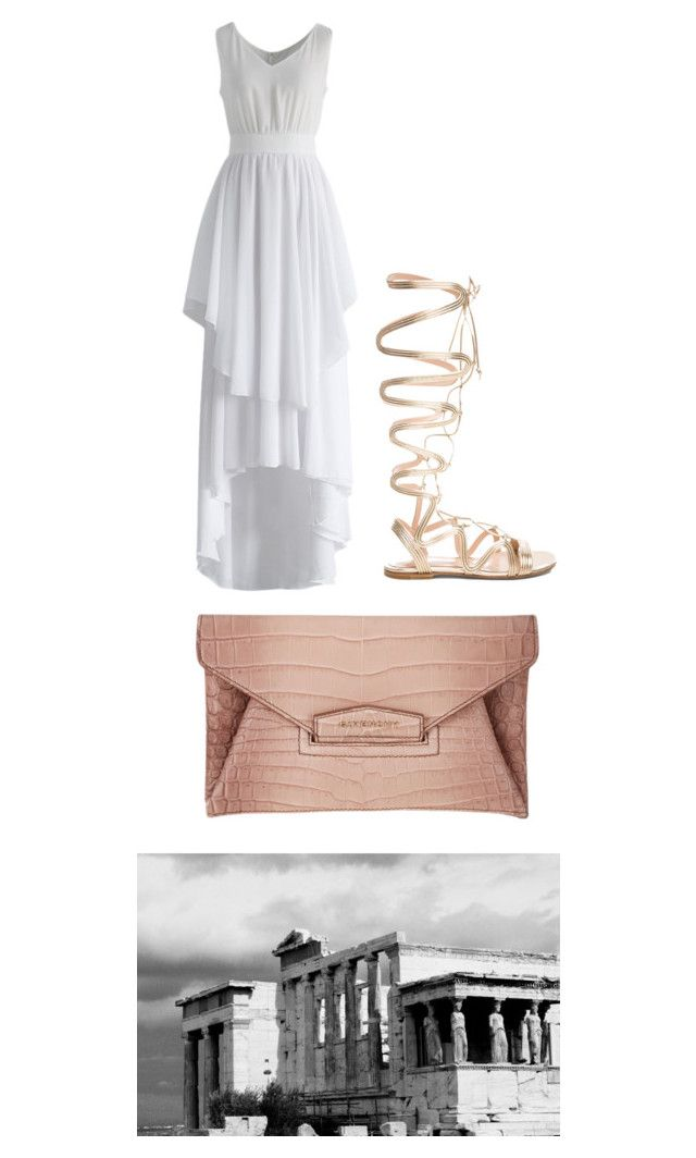 """Untitled #364"" by d-ioana-alexandra on Polyvore featuring Chicwish, Gianvito Rossi and Givenchy"