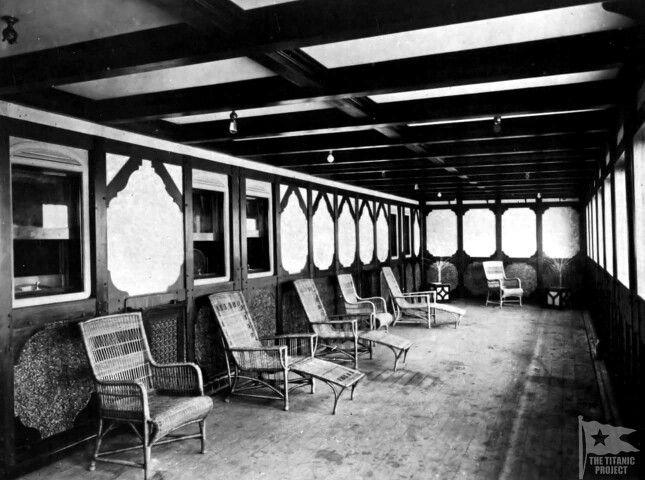 Private Promenade For Bruce Ismay S Staterooms Titanic Rms Titanic Titanic Photos