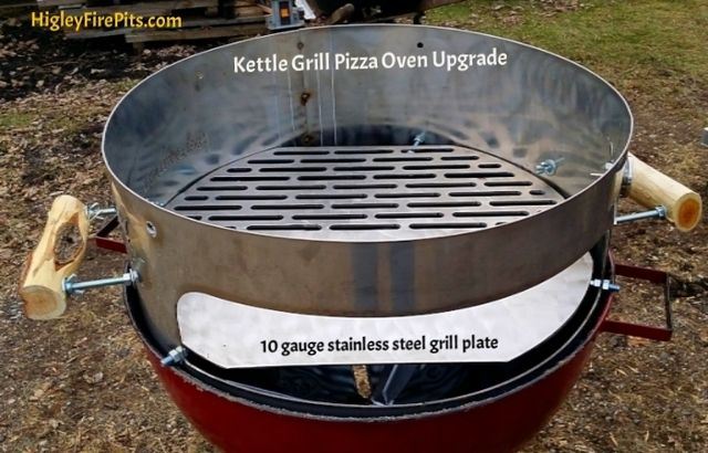 This Pizza Oven Upgrade Is Made From Type 304 Stainless Steel 13 Gauge Thick This Unit Comes As A One Piece Unit Ready To Go Out Of The Box Includes A Asador