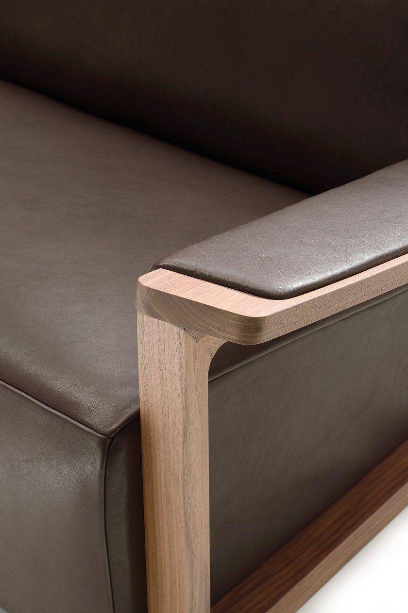 4 seater leather sofa FELLINI | Sofa by i 4 Mariani | diy ...