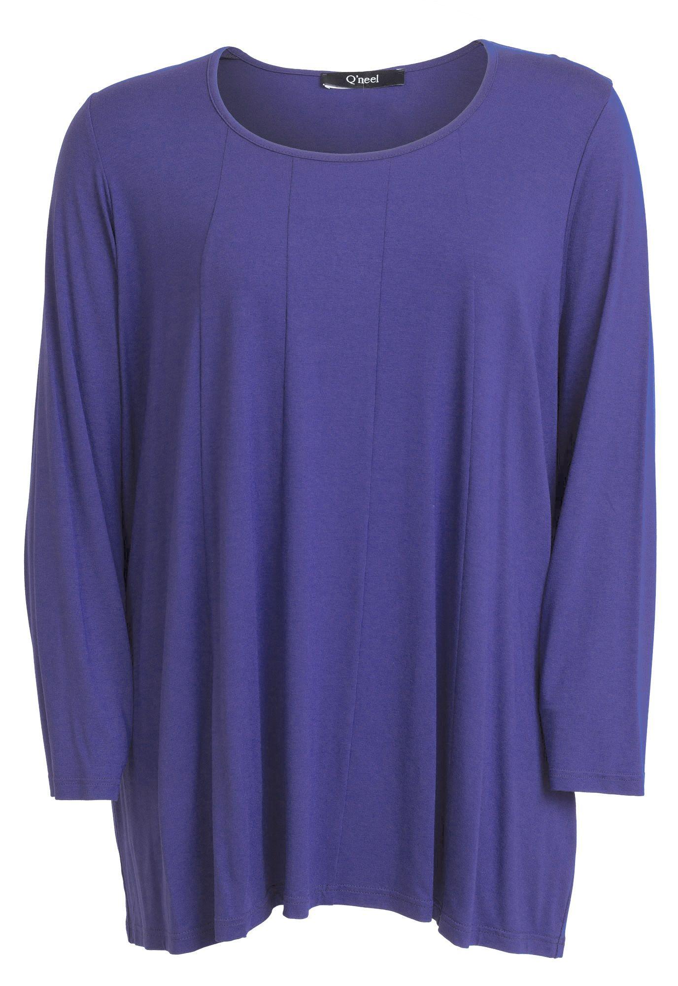 fd17c9a02a96 De lækreste Lilla Tunika   oversize bluse i store størrelser Q`neel Modetøj  til Damer i luksus kvalitet