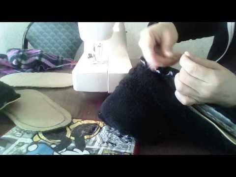 Video de pantunflas de bota parte 2