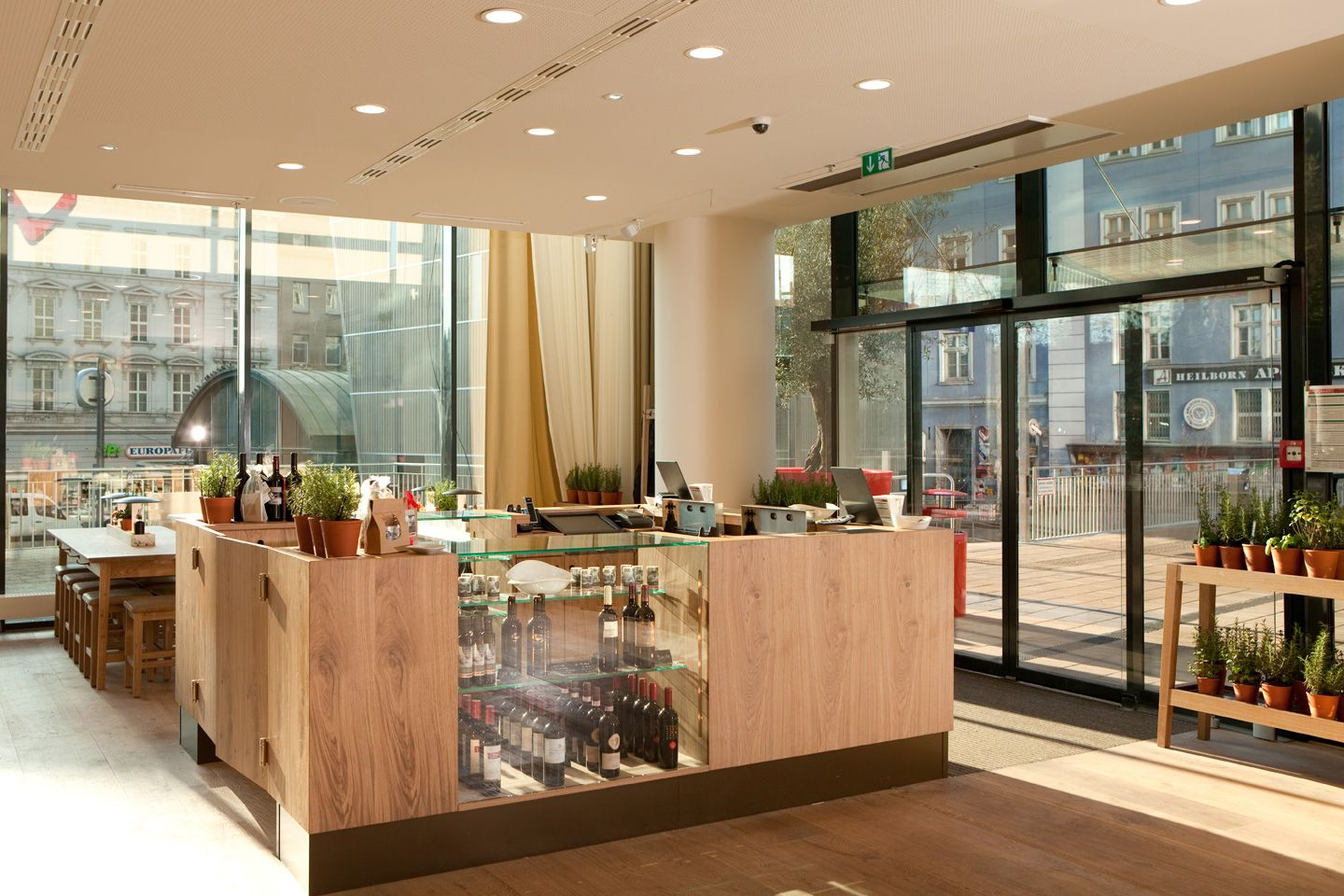 Restaurant Wohnzimmer Thun The New Design Cashier Vapiano Designed By Matteo