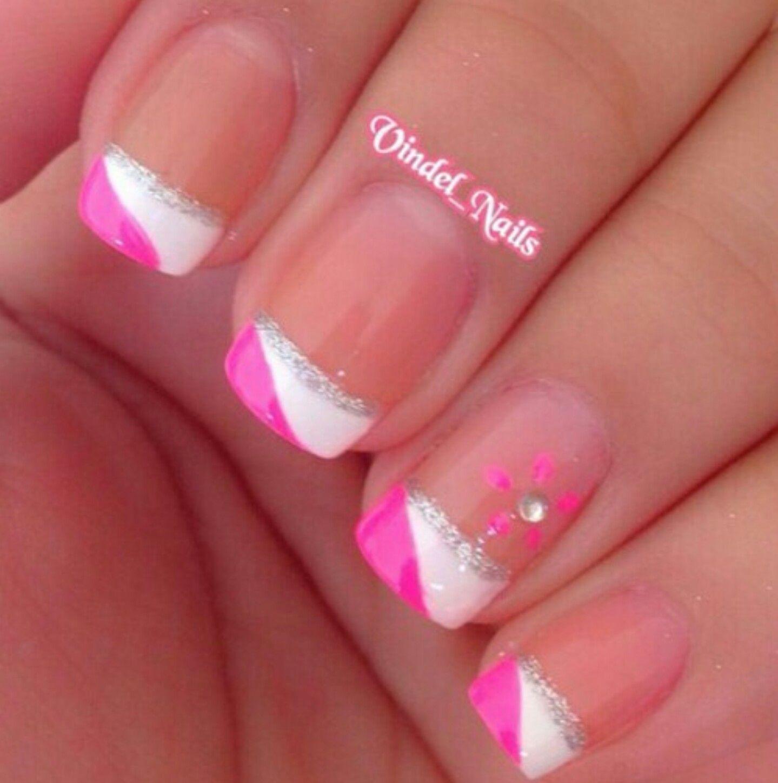 Pin von Nisha Turechek auf Cute Nails | Pinterest | Nagelschere ...