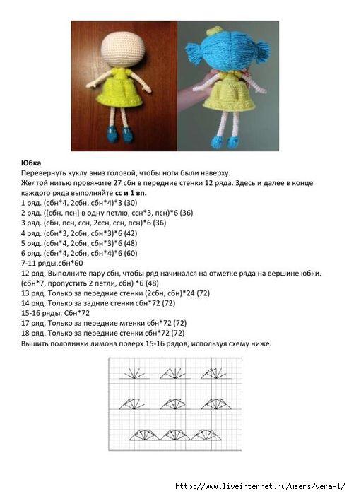 Куклы Лалапупси*6 | игрушки вязаные | Pinterest | Tejido