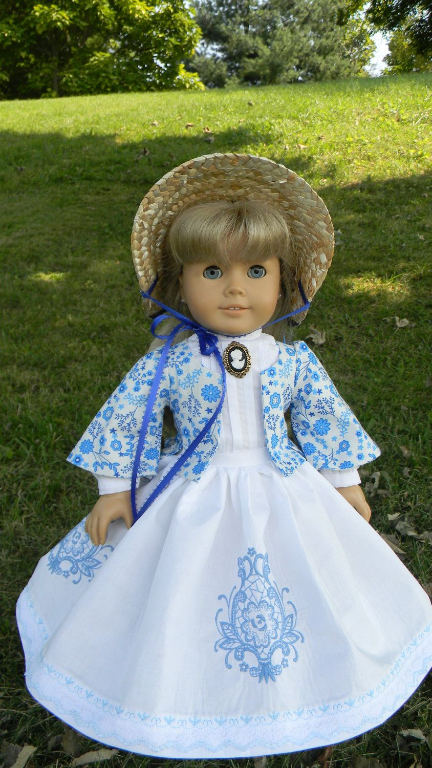 "18"" Doll Gown Special Order for Treasures by Lori only"