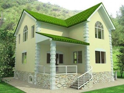 modelo de casas modernas de dos pisos Macetas Pinterest