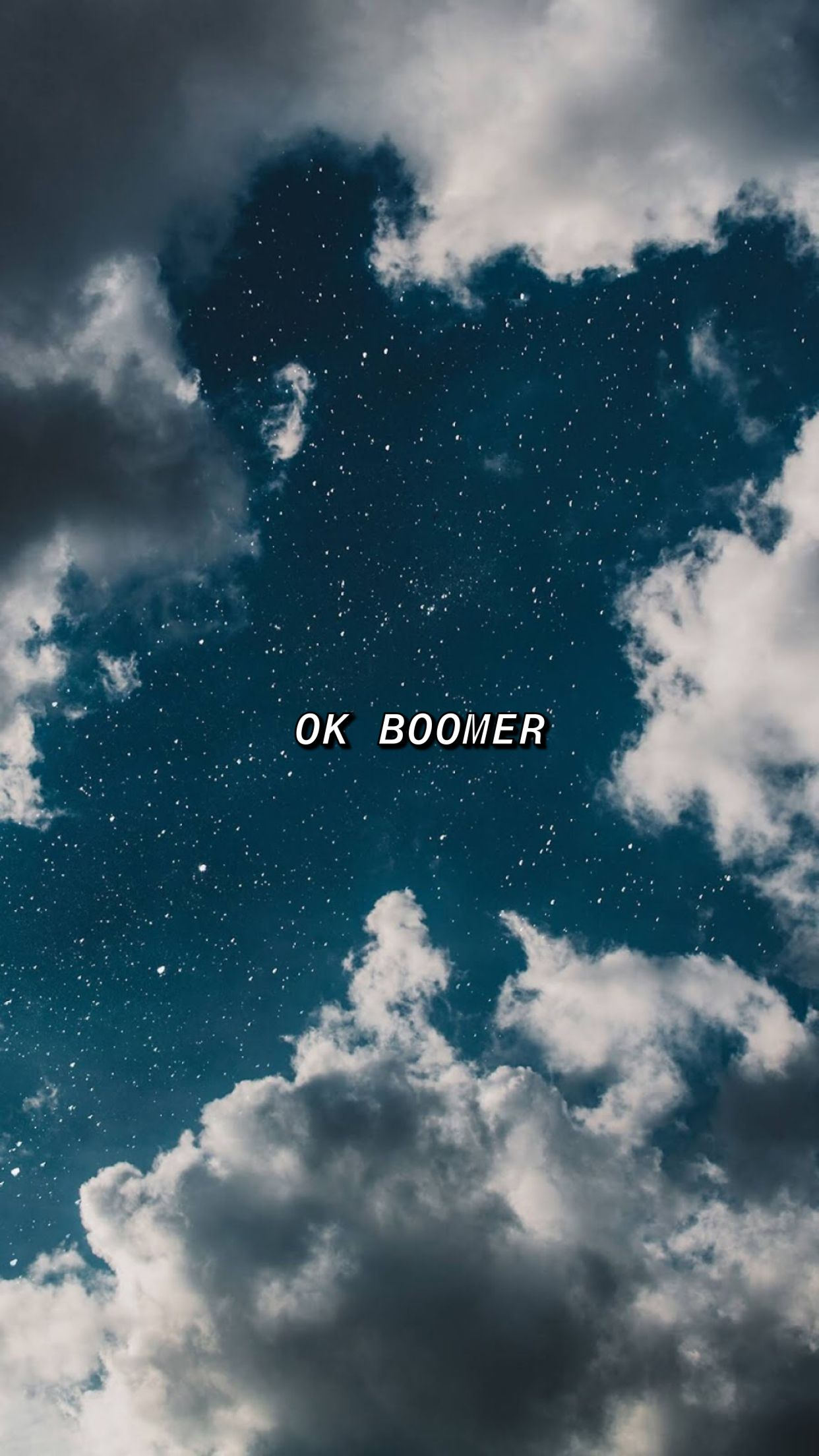 OK BOOMER Aesthetic iphone wallpaper, Cute tumblr