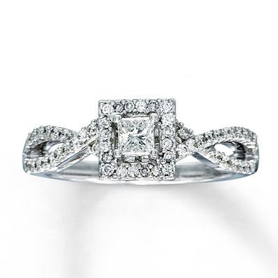 2 K White Gold Engagement Rings From Kay Jewelers 8 Spring Wedding